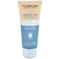 FlosLek Laboratorium Anti Acne machiaj cu efect matifiant pentru tenul gras, predispus la acnee