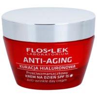 crema de día hidratante contra el envejecimiento de la piel SPF 15