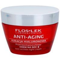 crema de noche hidratante con efecto antiarrugas