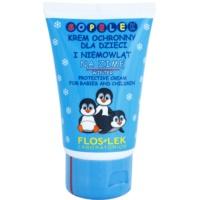 schützende Creme fúr den Winter für Kinder