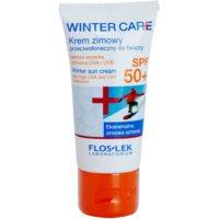 crema protectora del frío SPF 50+