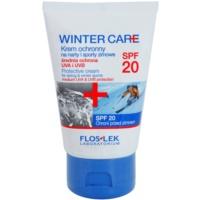 crema protectora del frío SPF 20