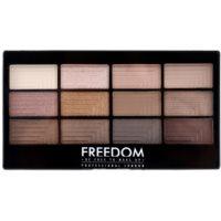 Freedom Pro 12 Audacious 3 paleta farduri de ochi cu aplicator
