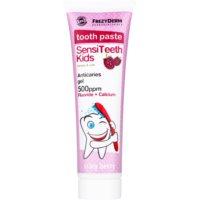 pasta de dientes para niños con sabor a frutas del bosque