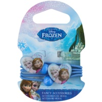 Frozen Princess Hair Elastics In Heart Shape