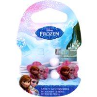 Frozen Princess gumičky do vlasov s kvetinkou