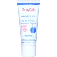 gel de masaje relajante y nutritivo para la piel del bebé