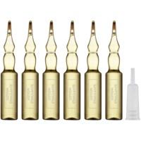 čisticí a stimulační sérum v ampulích pro hladké a lesklé vlasy