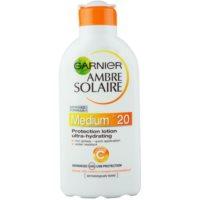 leche solar hidratante SPF 20