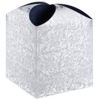 pudełko na prezenty gwiazda floral (121 x 155 x 121 mm)