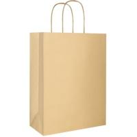 torebka na prezent eco złota duża (220 x 290 x 100 mm)