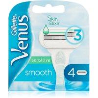Gillette Venus Smooth Sensitive recambios de cuchillas 4 uds