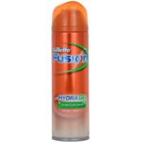 gel za britje za občutljivo kožo