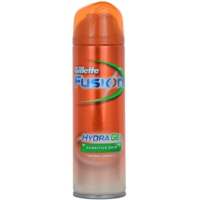 Gillette Fusion Hydra Gel Shaving Gel For Sensitive Skin