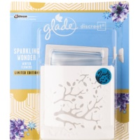 Glade Discreet Electric ambientador  con recarga Sparkling Wonder