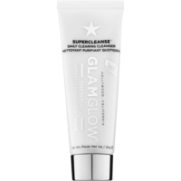 Glam Glow Super Cleanse espuma desmaquilhante e de limpeza