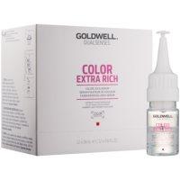 Serum zum Schutz von Glanz und Farbe der Haare