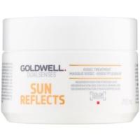 regenerační maska pro vlasy namáhané chlórem, sluncem a slanou vodou