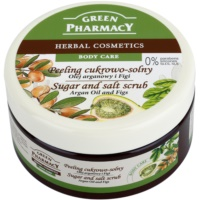 Green Pharmacy Body Care Argan Oil & Figs Zucker-Salz Peeling