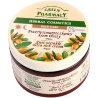 Green Pharmacy Face Care Argan crema nutritiva antiarrugas  para pieles secas