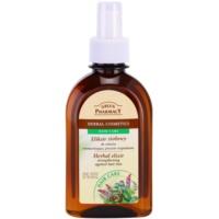 Kräuterelixir zur Stärkung der Haare und gegen Haarausfall