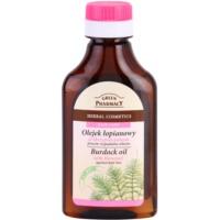 Green Pharmacy Hair Care Horsetail aceite de bardana anticaída del cabello