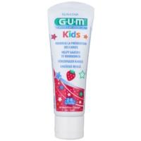 zubní gel pro děti s jahodovou příchutí