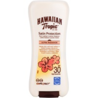 Hawaiian Tropic Satin Protection wodoodporne mleczko do opalania SPF 30