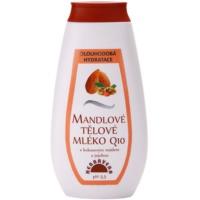 hydratačné telové mlieko s mandľovým olejom