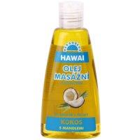 masážní a tělový olej Hawai 2 v 1