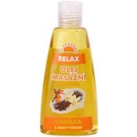 masážny a telový olej Relax 2v1
