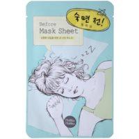 entspannende Gesichtsmaske