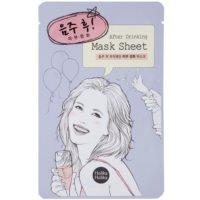 čistiaca maska na tvár