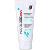 schützende Creme für die Füße mit antibakteriellem Zusatz