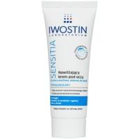 crema hidratante para contorno de ojos para pieles sensibles