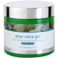 pleťový gel s aloe vera