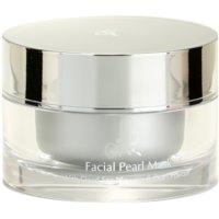 mascarilla facial con perlas