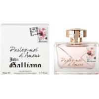John Galliano Parlez-Moi d'Amour Eau de Toilette pentru femei