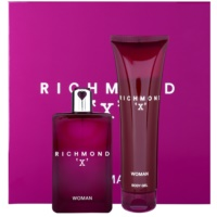 John Richmond X for Woman Gift Set I. Eau De Toilette 75 ml + Shower Gel 150 ml