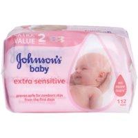 Johnson's Baby Diapering Extra Zachte Vochtige Reinigingsdoekjes  voor Kinderen