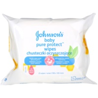 Johnson's Baby Pure Protect feuchte Reinigungstücher für Kinder
