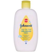 Johnson's Baby Top-to-Toe leche corporal para masaje para niños