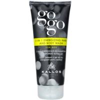 Kallos Gogo energiespendendes Duschgel Für Körper und Haar