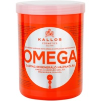 поживна маска для волосся з олією макадамії та комплексом омега-6