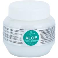 hydratační maska s aloe vera