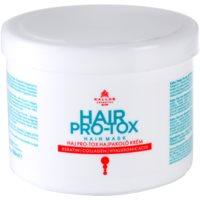 Kallos KJMN mascarilla nutritiva e hidratante para cabello seco y dañado