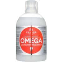 відновлюючий шампунь з олією макадамії та комплексом омега-6