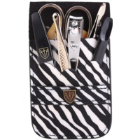 kit para manicure perfeita zebra