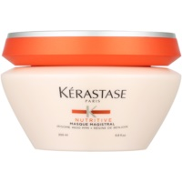 máscara nutritiva intensiva para cabelo normal e extremamente seco e sensível