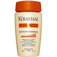 szampon z formułą termoaktywną do bardzo suchych i wrażliwych włosów